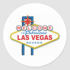 Welcome-to-Las-Vegas Classic Round Sticker