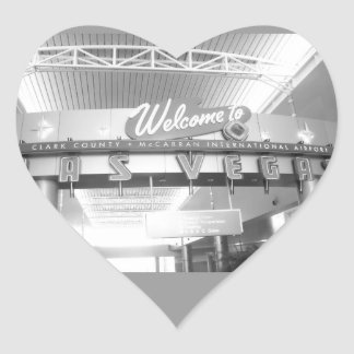 Welcome to Las Vegas Heart Sticker