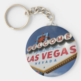 Welcome To Las Vegas Keychain