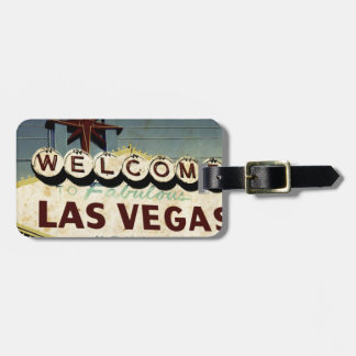 Welcome To Las Vegas Luggage Tag