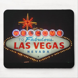 Welcome to Las Vegas Mouse Pad