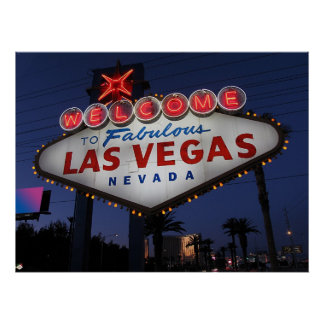 Welcome to Las Vegas Nevada Poster Print