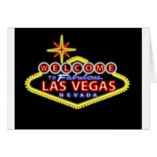 Welcome to Las Vegas Notecard