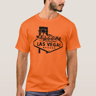 Welcome to Las Vegas Vector Graphic T-Shirt