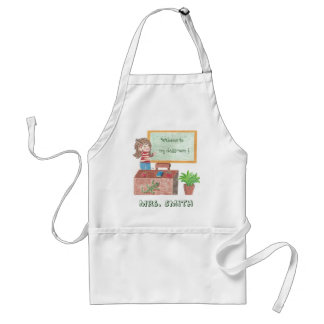 Welcome to, my classroom ! Custom teacher Standard Apron
