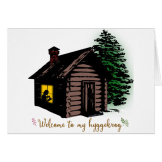 Welcome to my Hyggekrog Card