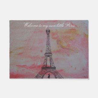 Welcome to my own little Paris Doormat