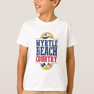 Welcome to Myrtle Beach Country T-Shirt