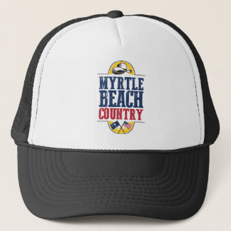 Welcome to Myrtle Beach Country Trucker Hat