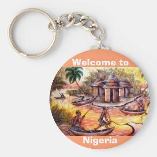 welcome to Nigeria - Customized Keychain