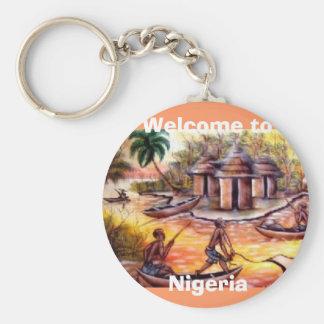 welcome to Nigeria Keychain