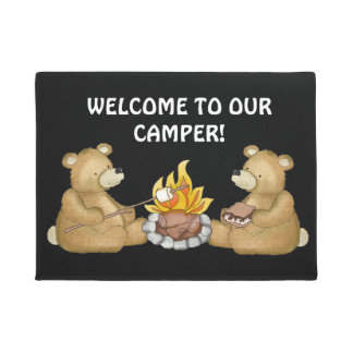 Welcome to our camper door mat