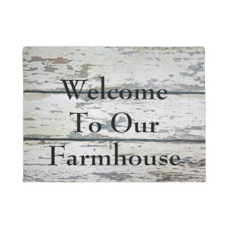 Welcome to our Farmhouse Doormat