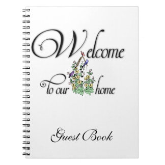 Welcome to Our Home (birdhouse) Guest book