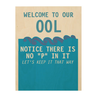 """Welcome to our ool notice there is no """"P"""" in it. Wood Canvases"""