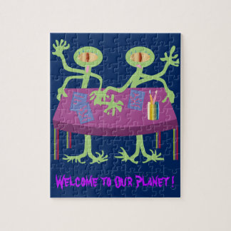 Welcome to Our Planet! Jigsaw Puzzle