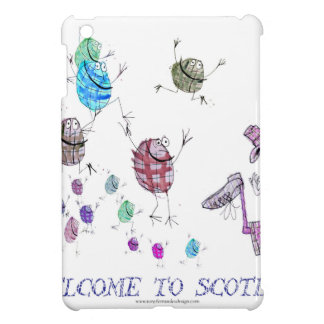 welcome to scotland iPad mini case