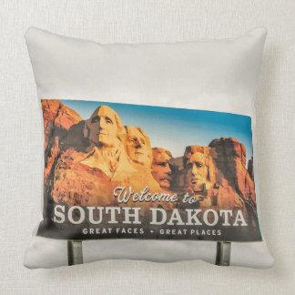 Welcome to South Dakota Sign Throw Pillow