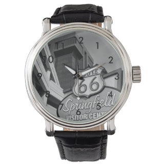 Welcome To Springfield Grayscale Wrist Watch