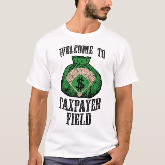 Welcome to Taxpayer Field (white) T-Shirt