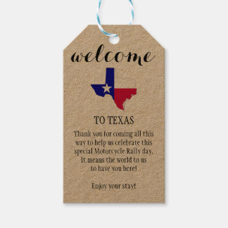 Welcome to Texas Personalized Gift Tags