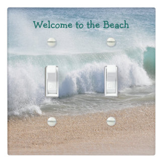 Welcome to the Beach, Summer, Vacation Home Light Switch Cover
