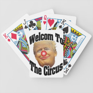 Welcome to the Circus Bicycle Playing Cards