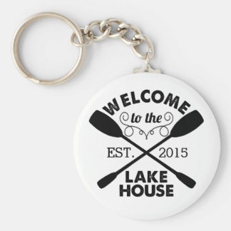 Welcome to the Lake House Keychain