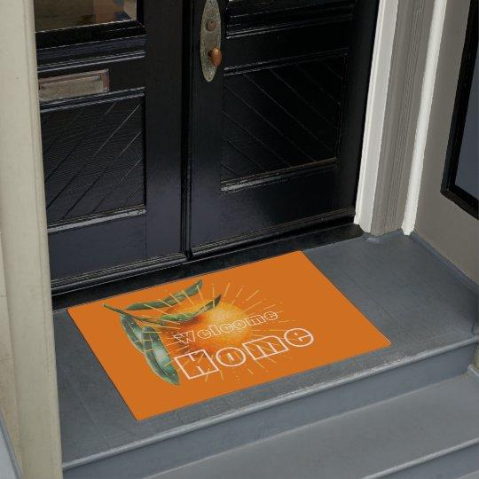 Welcome to the Land of Orange Doormat