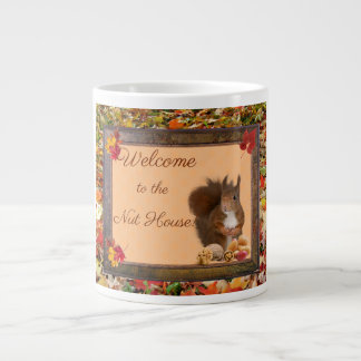 Welcome to the Nut House Jumbo Coffee Cup