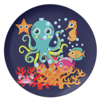Welcome to the Ocean Dinner Plates