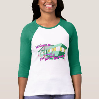 Welcome to The Redneck Riviera - 3/4 Sleeve Raglan T-Shirt