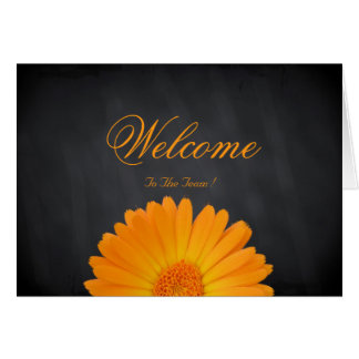 Welcome To The Team Daisy Flower Card