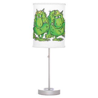 Welcome to the Terrible Two Table Lamp