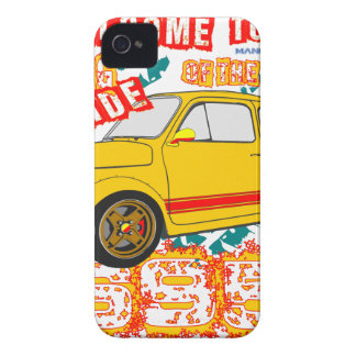 Welcome to the Wrong Side of the Track iPhone 4 Case-Mate Cases