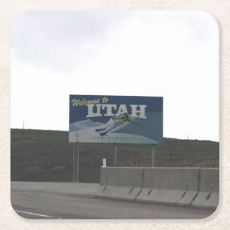 Welcome to Utah Drink Coaster