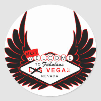 Welcome to Vega Classic Round Sticker