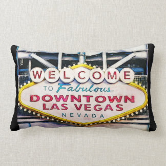 Welcome to Vegas Sign Novelty Pillow