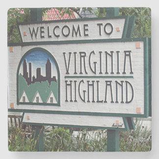 Welcome to Virginia Highland Marble Stone Coaster. Stone Coaster