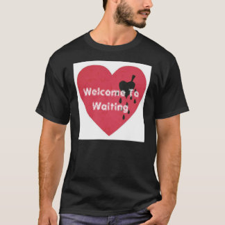 Welcome To Waiting band t-shirt