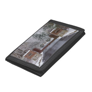 Welcome To Winter Trifold Wallet