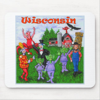 Welcome to Wisconsin Mouse Pad