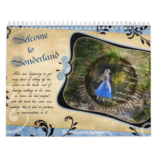 Welcome to Wonderland Calendars