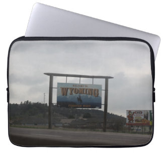 Welcome to Wyoming Laptop Sleeve