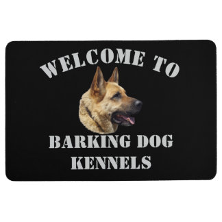 Welcome to your kennel name floor mat