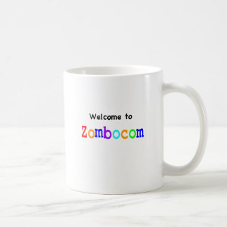 Welcome to Zombocom Coffee Mug