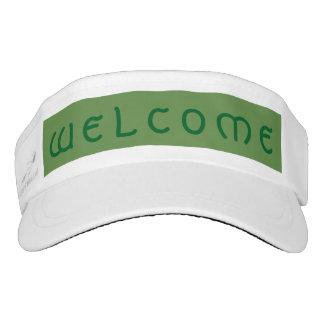 Welcome Visor