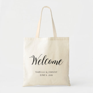 Welcome|wedding welcome gift tote bag