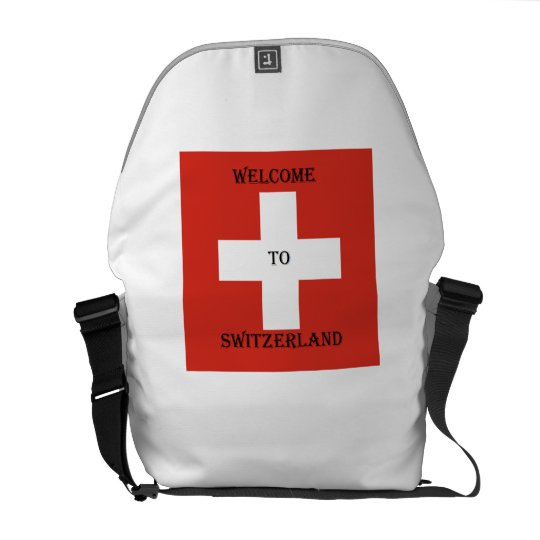 welcome you switzerland bag courier bags