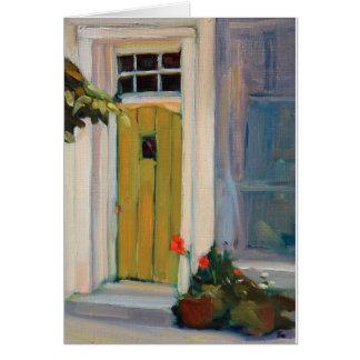Welcoming Doorway Card